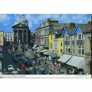 John Hinde Colour Postcard 'Town Centre, Penzance, Cornwall'