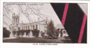 Church Vintage Cigarette Card Well Known Ties No 20 Old Cheltonians