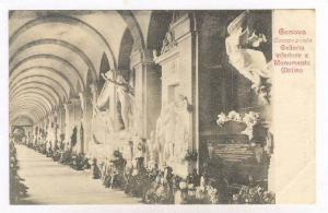 GENOVA, Italy, 00-10s   Camposanto .- inferiore e Monumento Ghilino