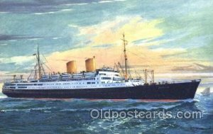 MS. Berlin Norddeutscher Lloyd Ship Ships Postcard Postcards Unused