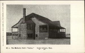 North Scituate MA Hatherly Club Casino c1905 Postcard