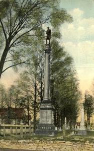 Morgan Monument - Batavia NY, New York - pm 1916 - DB