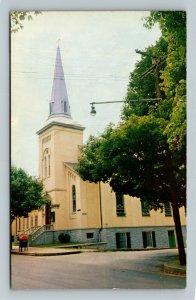 Sacred Heart Catholic Church, Vintage Winchester Virginia Postcard