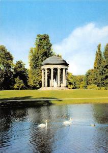 Hannover Der Leibnitztempel Swan Birds Temple