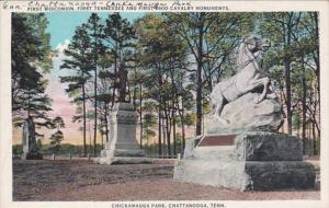 Tennesse Chattanooga First Wisconsin First Tennessee & First Ohio Monumen...