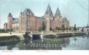 Rijks Museum Amsterdam Netherlands Unused
