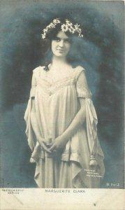 C1910 Stage Actress Marguerite Clark Rotograph B1412 RPPC Photo Postcard 21-3632