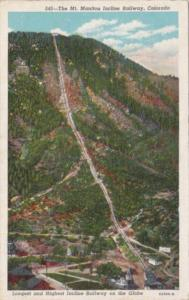 Colorado Mount Manitou Incline Railway