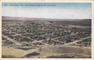 Orchards from the Sky Line Drive, Canon City, Colorado,00-10s