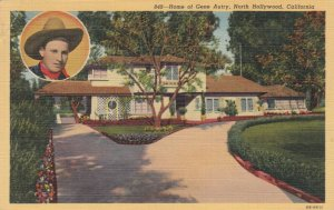 NORTH HOLLYWOOD , California , 30-40s ; Home of Gene Autry