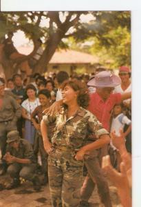 Postal 024315 : Nicaragua en medio de las dificultades sabe ser alegre