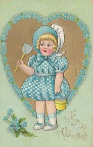 VALENTINE'S DAY: TUCK DAINTY DIMPLES Series No.3 , 1910, # 2