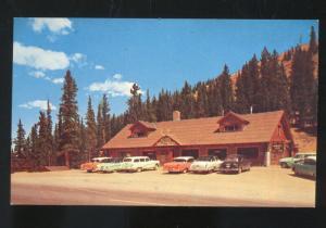 MONARCH PASS CREST COLORADO 1959's OLD CARS VINTAGE POSTCARD