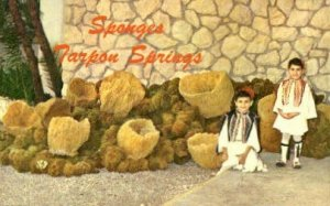 Sponge Industry - Tarpon Springs, Florida FL