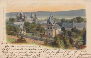 Maria Laach Abbey (Rhineland-Palatinate) Germany, PU-1900