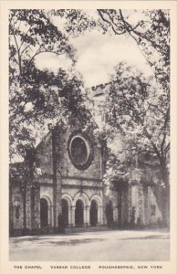 The Chapel Vassar College Poughkeepsie New York Albertype