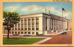 Connecticut Hartford Post Office 1946 Curteich