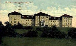 St. Johns Orphan Asylum - Utica, New York