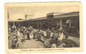 OUDJA (Maroc).-Un Coin du Marche aux legumes, 1910s