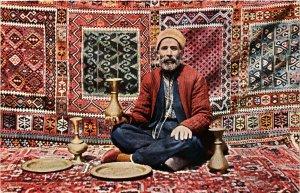 PC CPA ARABIAN TYPES AND SCENES,MUHAMEDANISCHER HANDWERKER, (b17417)