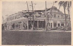 Florida Miami Kalby Paint Company After Hurricane