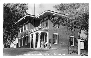 Grant's Memorial Home, Galena, Illinois Printed Photo Civil War Unused