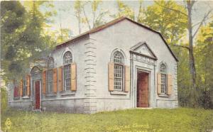 D51/ Goose Creek South Carolina SC Postcard c1910 St James Church Built 1713