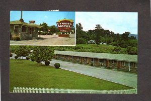 TN Lynmac Motel Chattanooga Tenn Tennessee Postcard Aline McNamara
