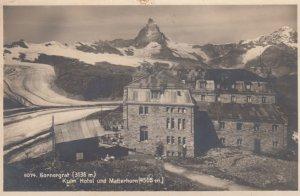 RP, Kulm Hotel Und Matterhorn (4505 M.), Gornergrat, Switzerland, 1920-1940s
