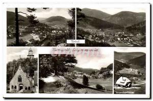 Old Postcard Herrenalb Schwarzwald