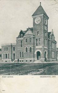 DESERONTO, Ontario , Canada , 1906 ; Post Office ; Version-2