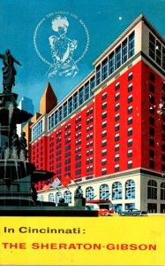 Ohio Cincinnati Sheraton-Gibson Hotel
