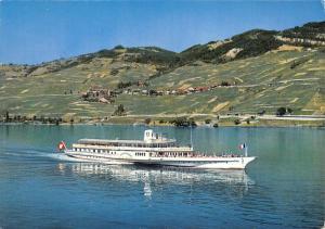 Br43719 Ship Bateaux Lac Leman