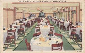 Vermont Burlington Interior Park Cafe & Sea Grill Curteich sk3430