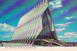 Colorado Colorado Springs United States Air Force Academy Cadet Chapel 1973
