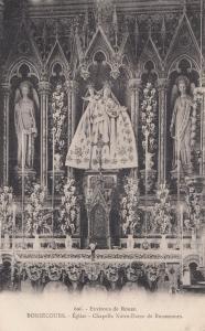 Bonsecours Notre Dame De Chapelle Church Eglise French Religious Postcard