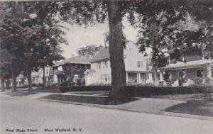 New York West Winfield West Main Street Albertype