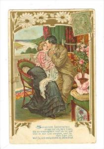 Couple In Love, Sitting On Down, 1900-1910s