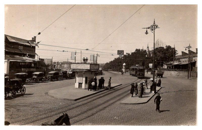 Egypt , Trolley Station , Cafe, Bar, Taxi Stand , RPC