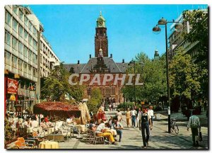 Postcard Modern Rotterdam Stadhuisplein