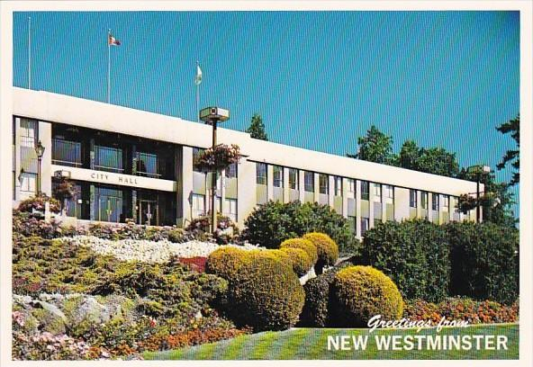 Canada Greetings From New Westminster City Hall