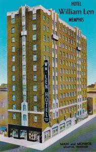 Tennessee Memphis Hotel William Len