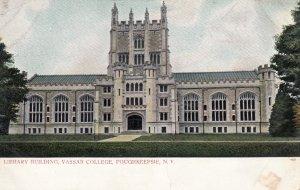 POUGHKEEPSIE , New York , 00-10s ; Library , Vassar College