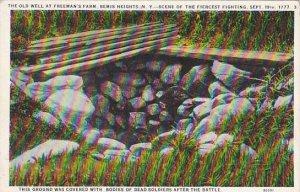 Freeman's Farm Bemis Heights New York Scene Of Fiercest Fighting Septemb...