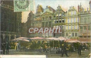 Old Postcard Brussels Grand Place