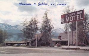 Exterior, Selkirk Inn Motel on Trans Canada Hwy.,  Golden,  B.C.,  Canada,  4...