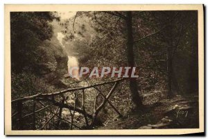 Old Postcard The Waterfall Gimel