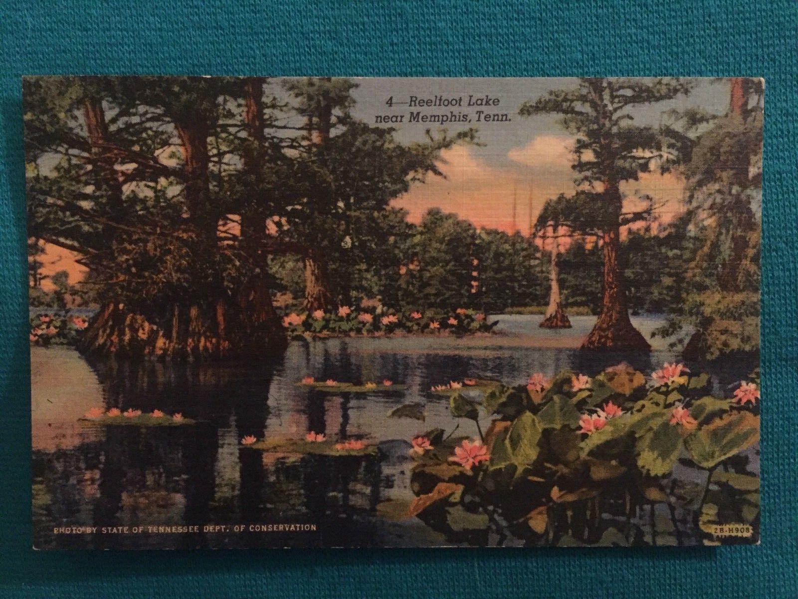 Vintage 1930-1945 Reelfoot Lake Memphis TN Tennessee