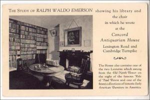 Ralph Waldo Emerson Library, Concord MA