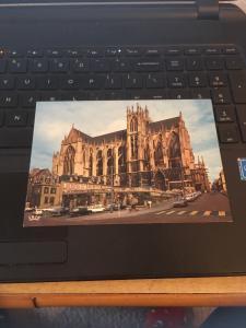 Vintage Postcard: METZ Cathedrale Saint Etienne, Vue De la Place De Chambre